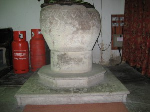 Byton - Herefordshire - St. Mary - font