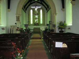 Byton - Herefordshire - St. Mary - interior