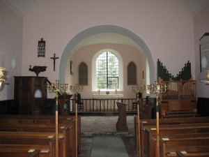 Acton Beauchamp - Herefordshire - St. Giles - interior