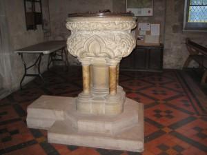 Allensmore - Herefordshire - St. Andrew - font