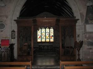 Allensmore - Herefordshire - St. Andrew - interior