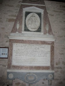 Allensmore - Herefordshire - St. Andrew - memorial plaque