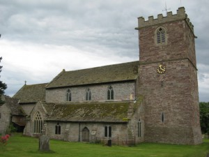 Almeley - Herefordshire - St. Mary - exterior