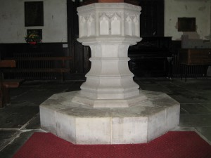 Almeley - Herefordshire - St. Mary - font