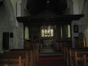 Almeley - Herefordshire - St. Mary - interior