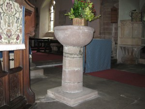 Ashperton - Herefordshire - St. Bartholomew - font