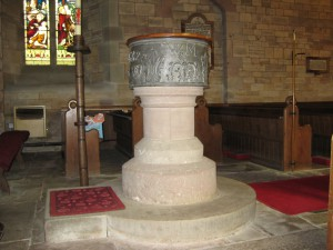 Aston Ingham - Herefordshire - St. John the Baptist - font