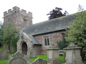 Bacton_Herefordshire_St. Faith - exterior
