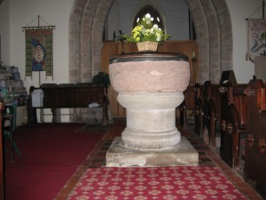 Bishops Frome - Herefordshire - St. Mary - font