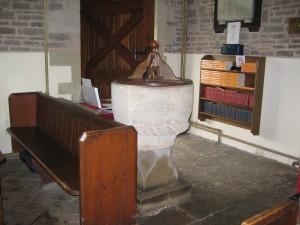 Blakemere - Herefordshire - St. Leonards - font