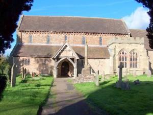 Bosbury - Herefordshire - Holy Trinity - exterior