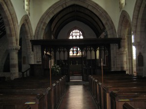 Bosbury- Herefordshire - Holy Trinity - interior