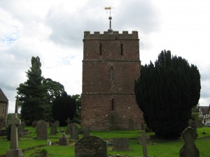 Bosbury- Herefordshire - Holy Trinity - Tower