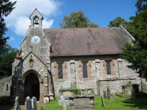 Brampton Bryan - Herefordshire - St. Barnabas - exterior