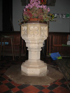 Bredenbury with Brendon Bishop and Wacton -Herefordshire - St. Andrew - font