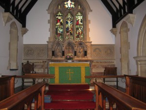 Bredenbury with Brendon Bishop and Wacton - Herefordshire - St. Andrew - interior
