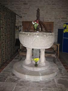 Bredwardine - Herefordshire - St. Andrew - font