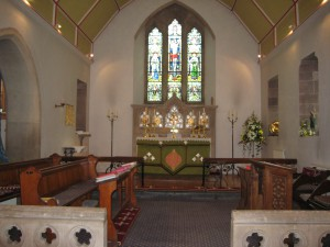 Breinton - Herefordshire - St. Michael - interior