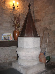 Bridge Sollars - Herefordshire - St. Andrews font