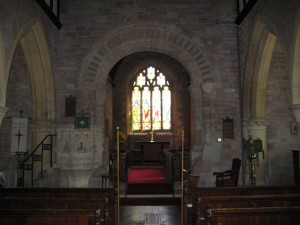 Bridstow - Herefordshire - St. Bridgets interior