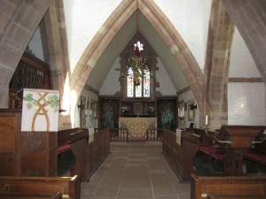Brockhampton - Herefordshire - All Saints - interior