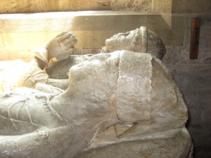Burghill - Herefordshire - St. Mary - effigy heads