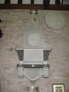 Burghill - Herefordshire - St. Mary - memorial4