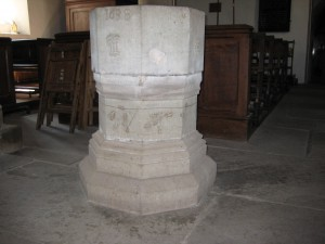 Byford_with_Mansell_Gamage_Herefordshire - St. John the Baptist - font