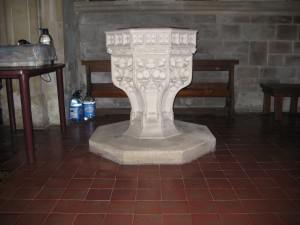 Canon From - Herefordshire St. James - font