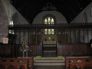 Canon Pyon - Herefordshire - St. Lawrence - interior