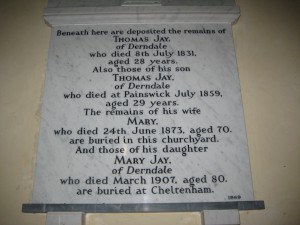 Canon Pyon - Herefordshire - St. Lawrence - memorial plaque 3