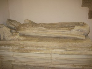 Clehonger - Herefordshire - All Saints - effigy