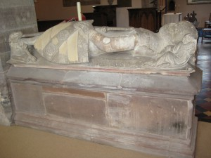 Clehonger - Herefordshire - All Saints - effigy2