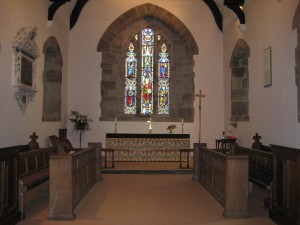 Clehonger - Herefordshire - All Saints - interior
