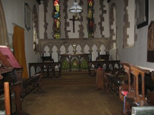 Coddington - Herefordshire - All Saints - interior