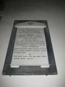 Coddington - Herefordshire - All Saints - memorial plaque