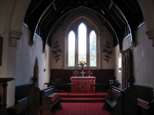 Collington - Herefordshire - St. Marys - interior