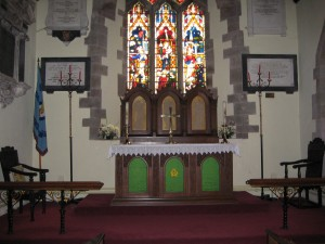 Credenhill - Herefordshire - St. Mary - interior