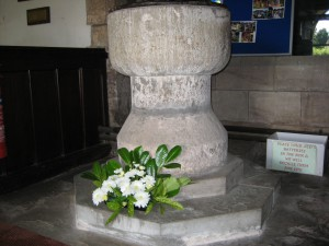 Dormington - Herefordshire - St. Peter - font