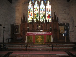 Dorstone - Herefordshire - St. Faith - interior