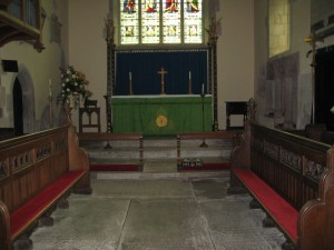 Eardisland - Herefordshire - St. Mary the Virgin - interior