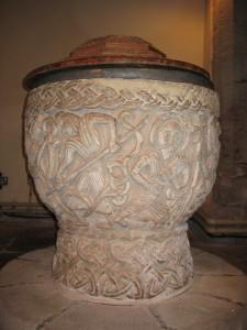 Eardisley - Herefordshire - St. Mary Magdalene - font