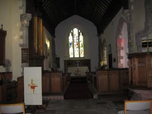 Eardisley - Herefordshire - St. Mary Magdalene - interior