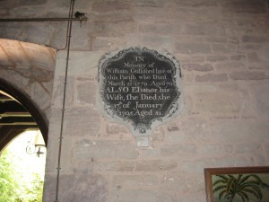Eaton Bishop - Herefordshire - St. Michael & All Angels - memorial plaque 3