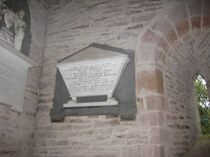 Edvin Ralph - Herefordshire - St. Michael -  memorial plaque