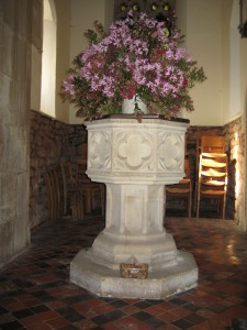 Felton_Herefordshire_St. Michael the Archangel - font