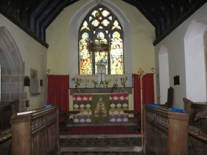 Felton_Herefordshire_St. Michael the Archangel - interior