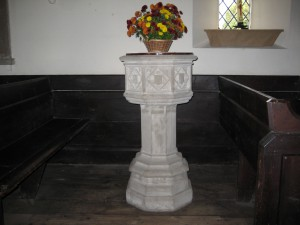 Ford - Herefordshire - St. John of Jerusalem - font