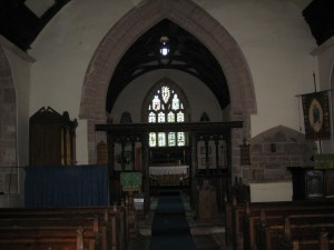 Foy - Herefordshire - St. Mary - interior