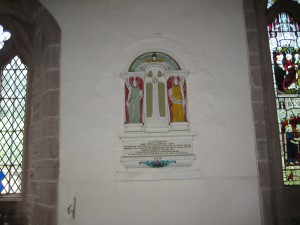 Foy - Herefordshire - St. Mary - memorial plaque